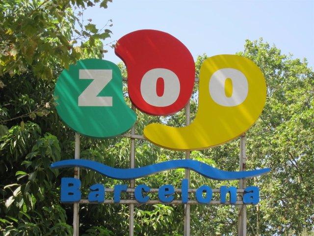 Zoo De Barcelona. Logo Del Zoológico De Barcelona