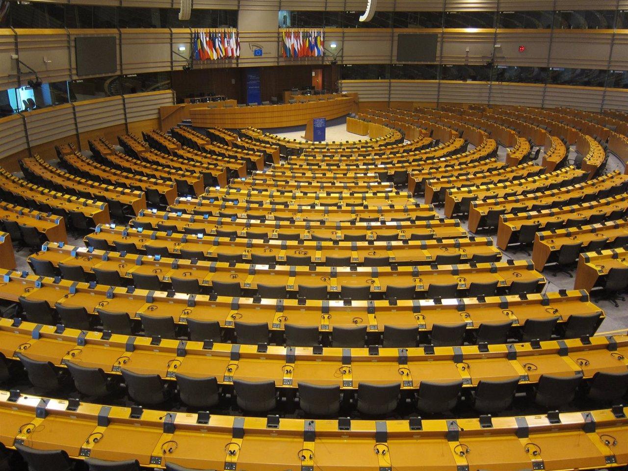 Sede del Parlamento Europeo en Bruselas.