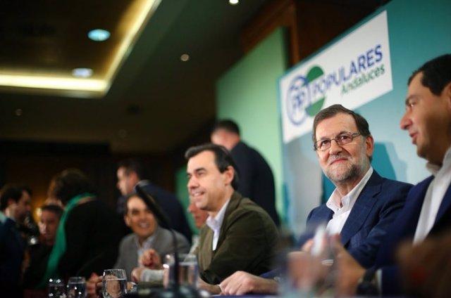 Rajoy en Córdoba, Junta PP