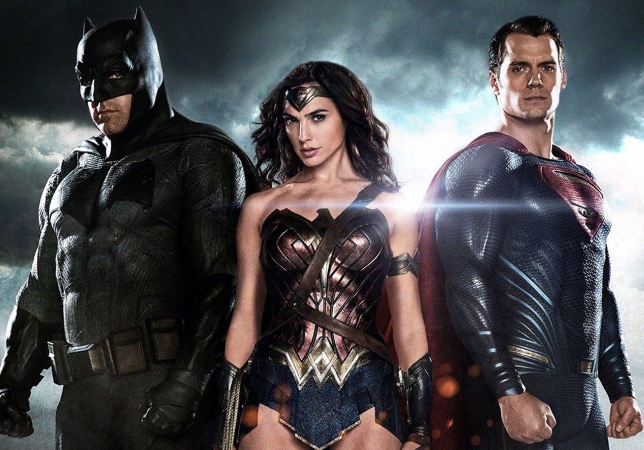 Wonder Woman, Batman y Superman