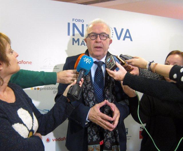 Consejero Empleo, Empresa y Comercio, José Sánchez Maldonado.