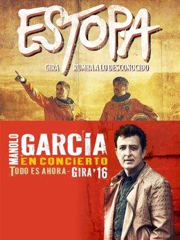 Estopa y Manolo García