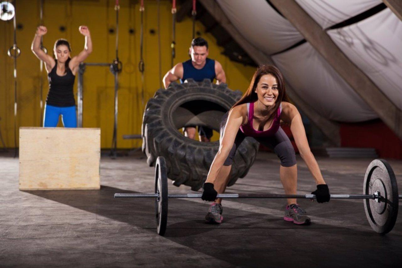 Crossfit, ejercicio, gimnasio