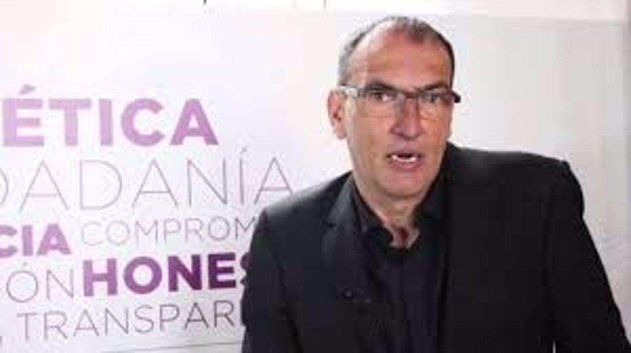 José Luis Serrano, diputado de Podemos en el Parlamento andaluz