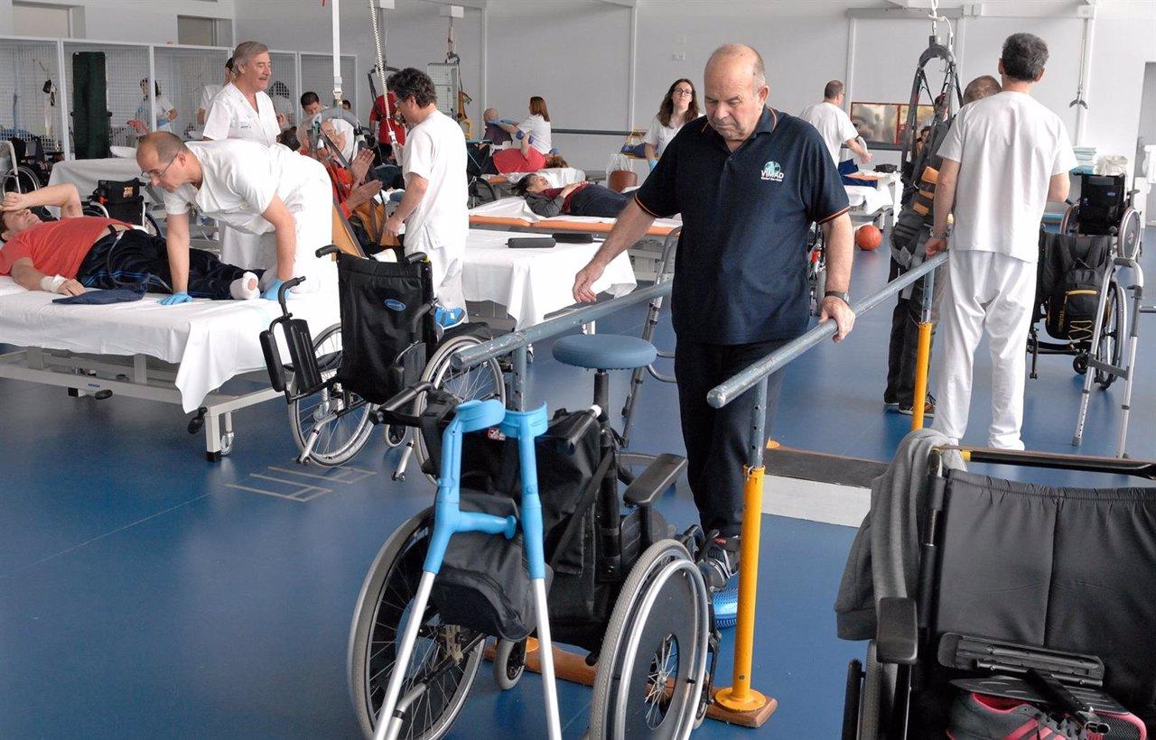 Gimnasio del Hospital Nacional de Parapléjicos