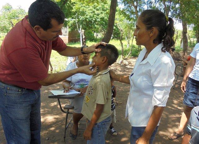 Detección de la lepra en niños