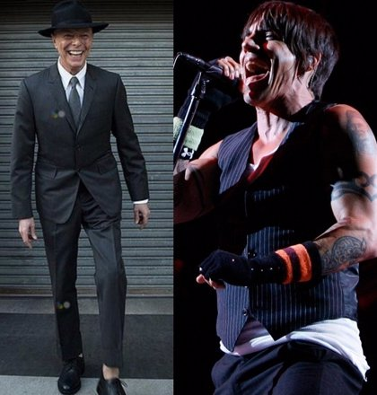 David Bowie rechazó varias veces colaborar con Red Hot Chili Peppers