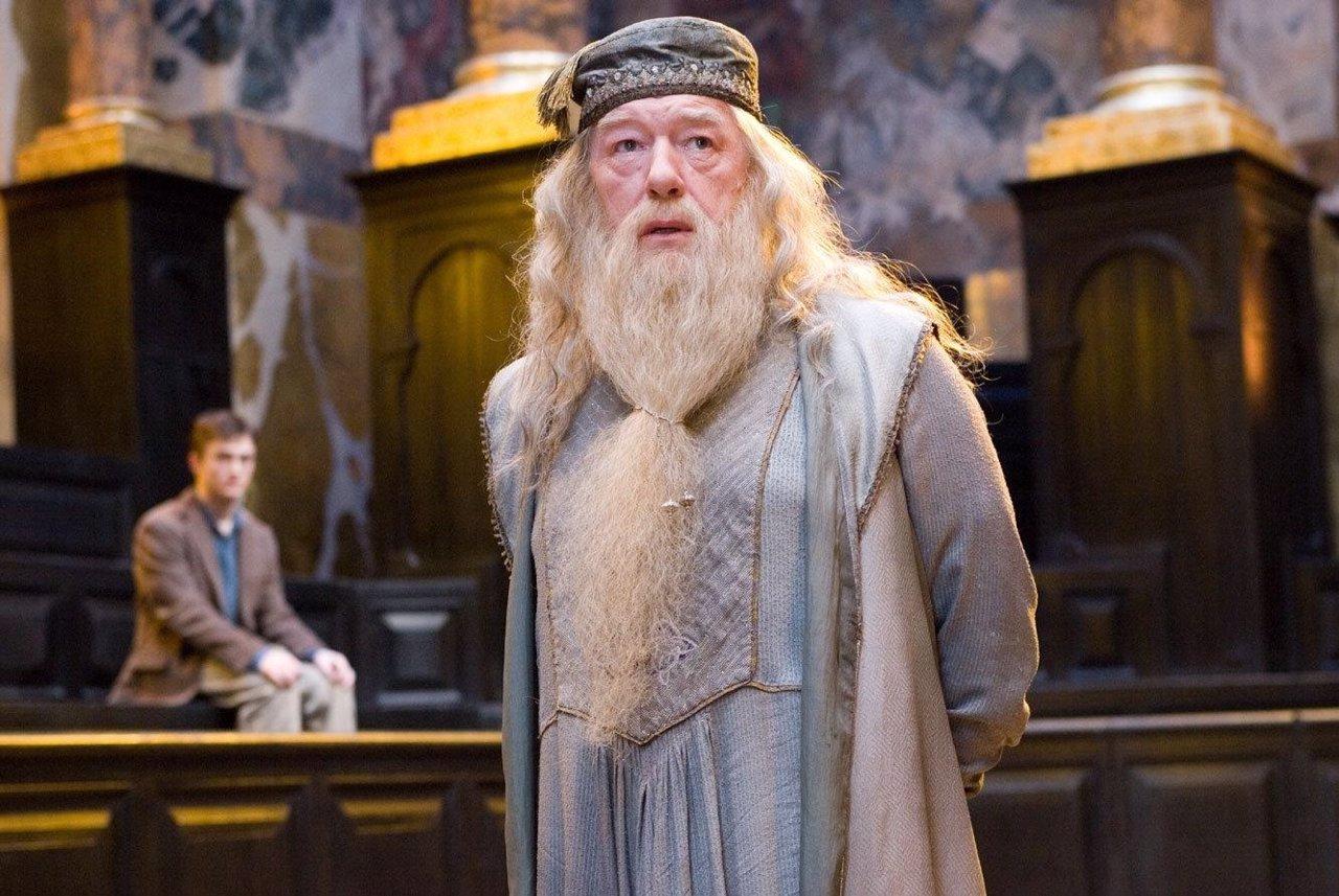 Dumbledore en Harry Potter y la Orden del Fénix