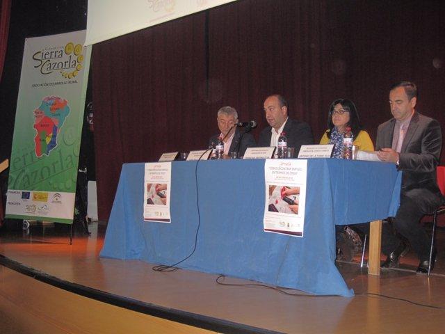 Inauguración de las jornadas de la ADR Sierra Cazorla