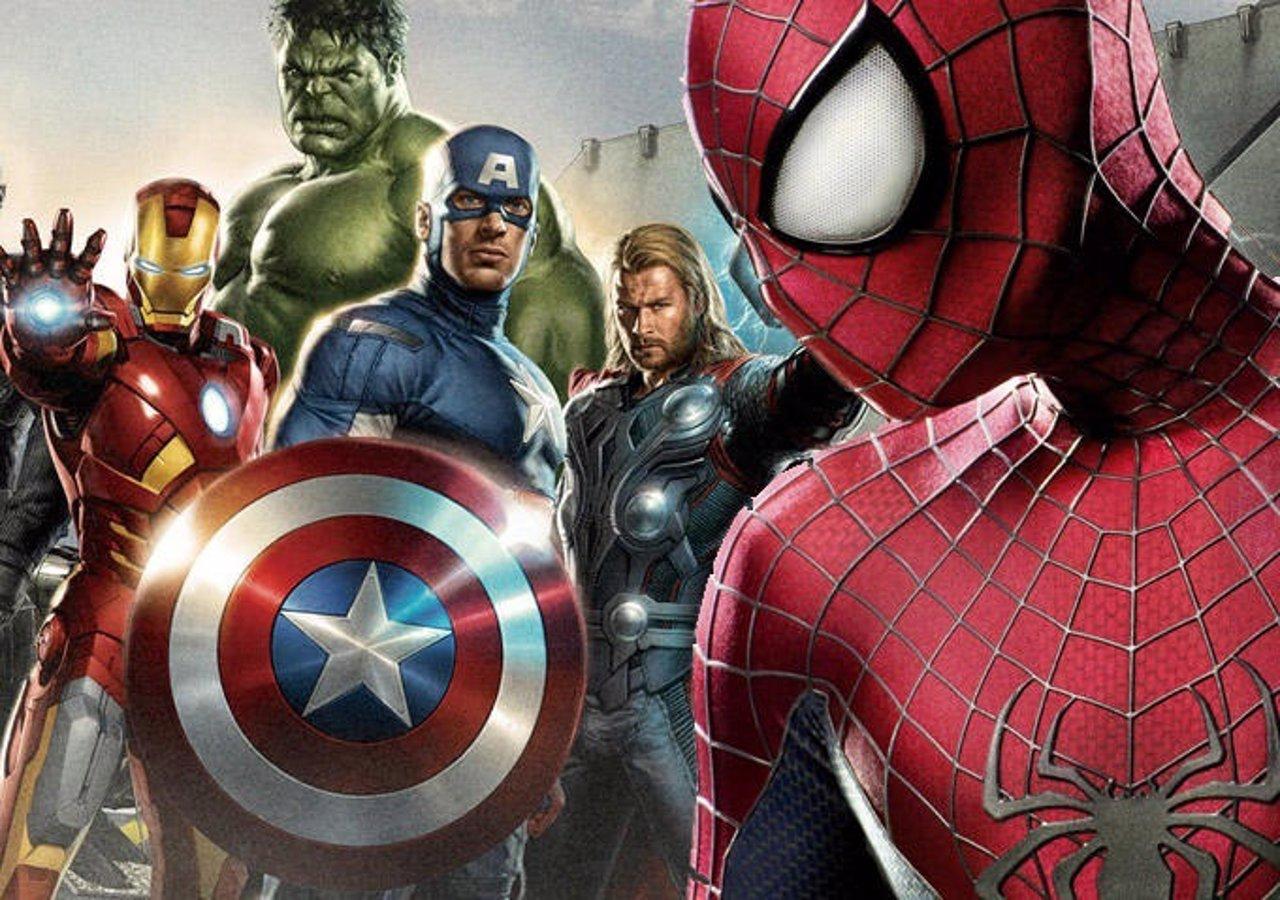 Spiderman con los Vengadores