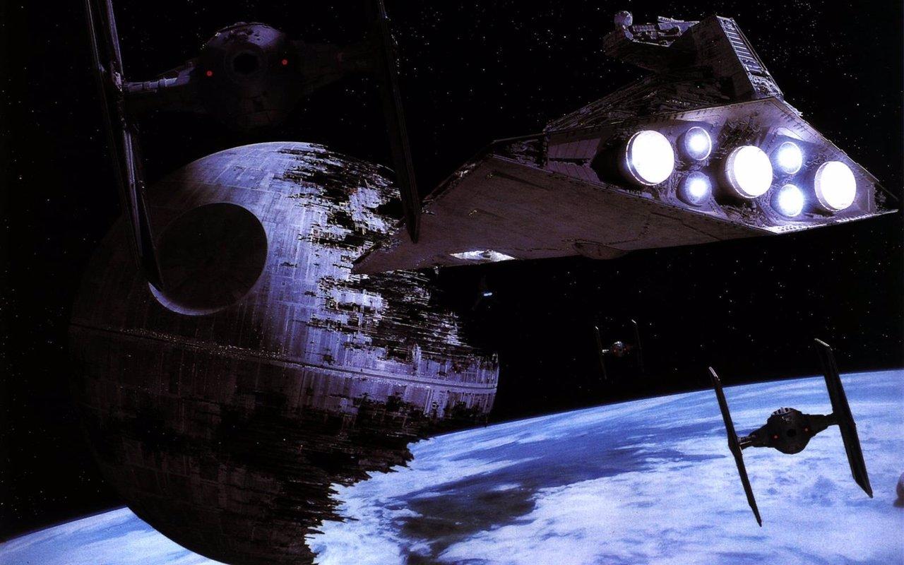 Estrella de la muerte en Star Wars