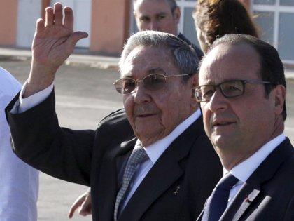 Raúl Castro llega a París para fortalecer relaciones con Europa