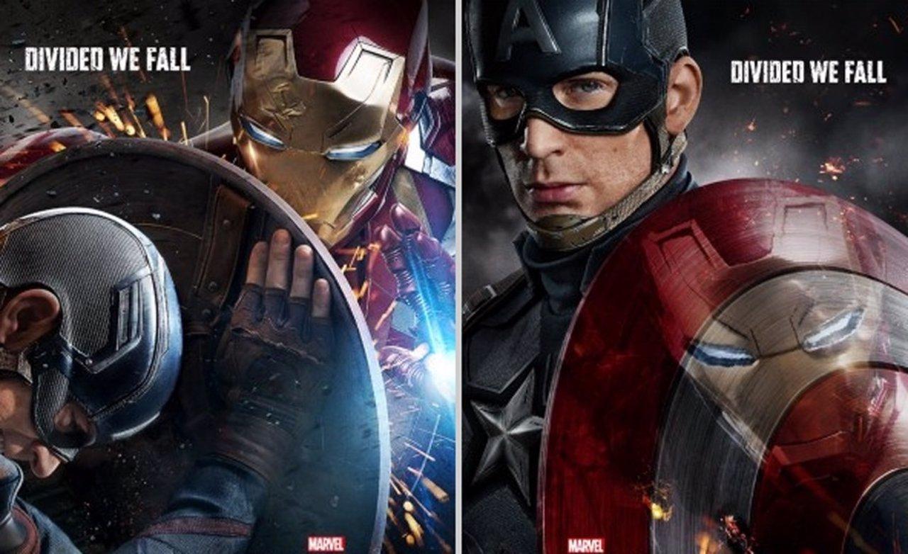 Carteles Capitán América: Civil War
