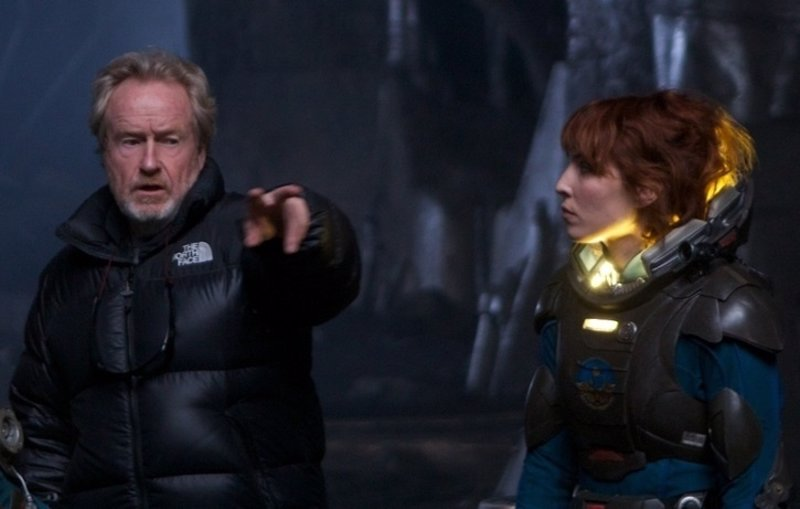 Ridley Scott anuncia que Noomi Rapace no estará en Alien: Covenant