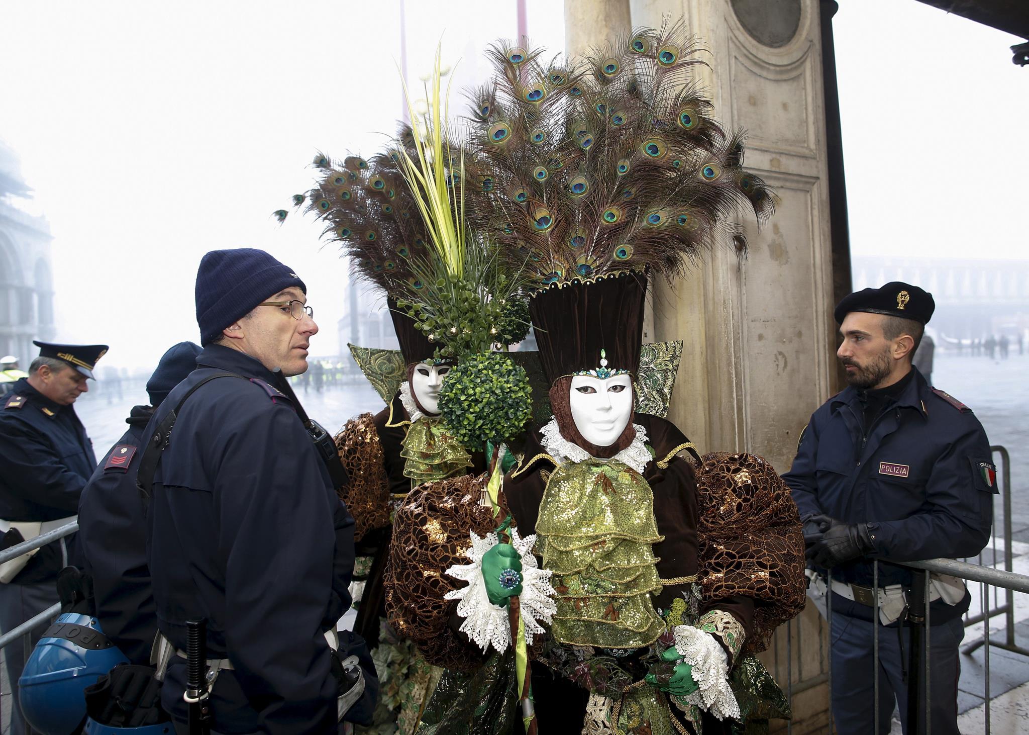 El carnaval de Venecia 2016, en imágenes