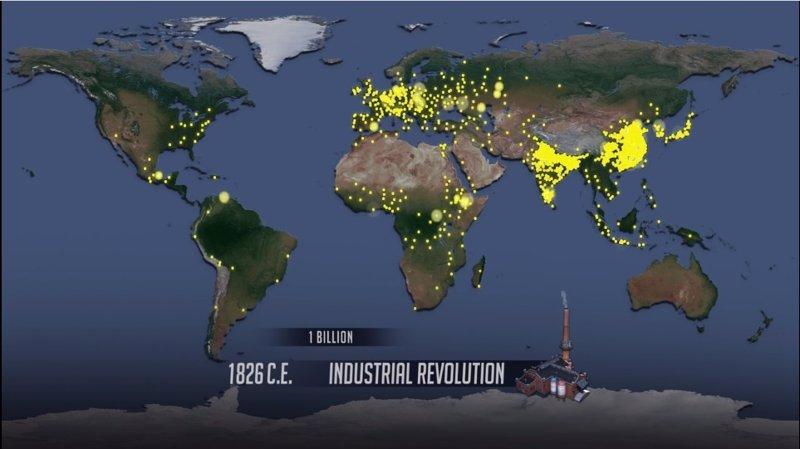 (VÍDEO) Así ha pasado el mundo de tener 170 millones a 7.300 millones de personas