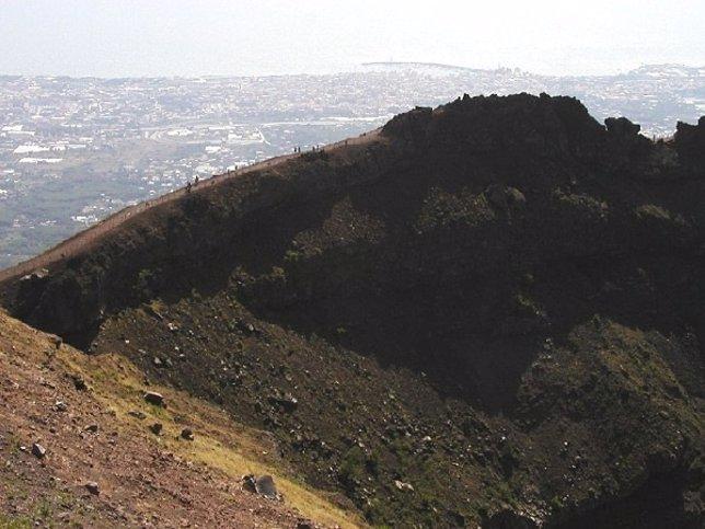 Cráter del Vesubio