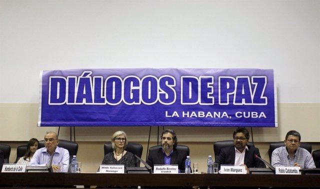 Diálogos de paz por Colombia en Cuba