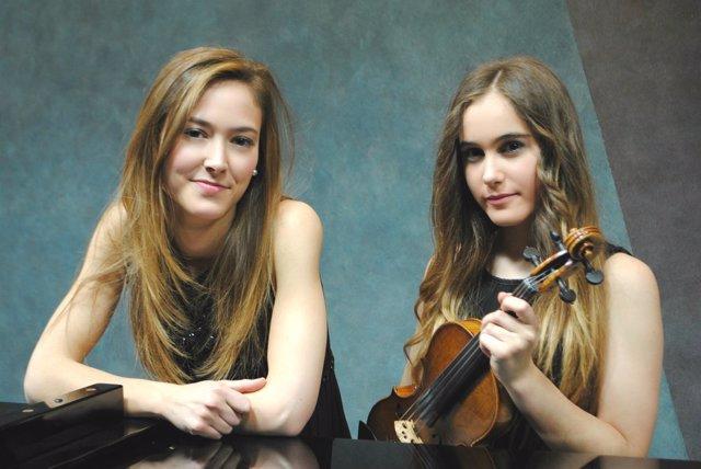 Dos violinistas, Becas Música 2016 de Fundación Botín