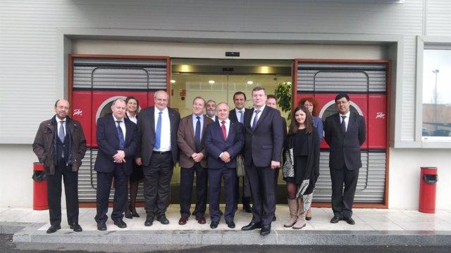 Delegación rusa visita factoría TALGO