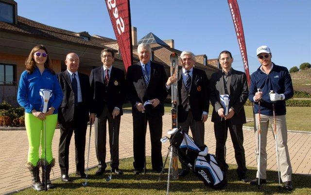 Presentación del Campeonato de España de Esquí y Golf