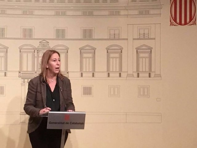 Neus Munté, consellera de Presidencia de la Generalitat