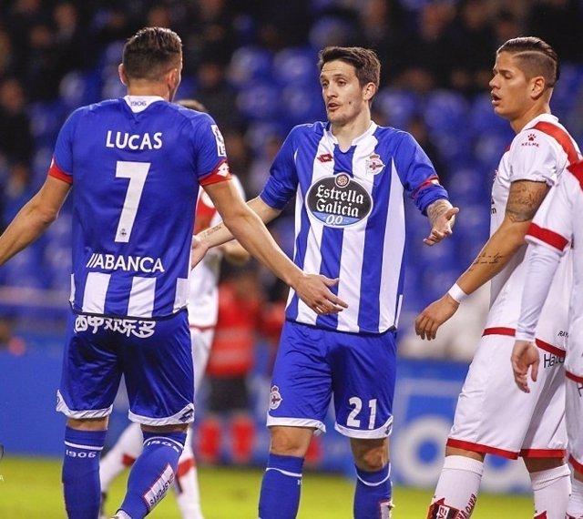 Deportivo-Rayo Vallecano, jornada 22 de la Liga BBVA
