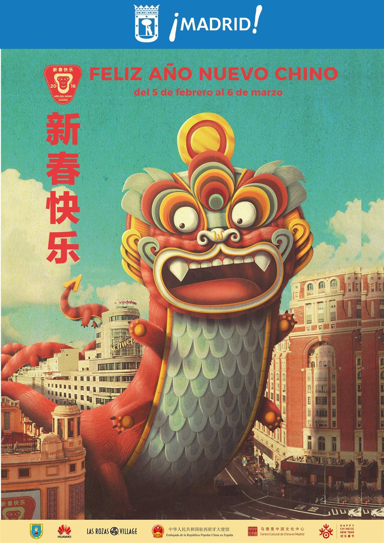 Usera, el Chinatown madrileño, será el epicentro del Año Nuevo Chino