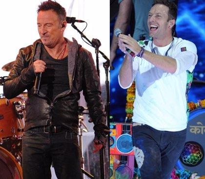 Bruce Springsteen da un consejo a Coldplay para su actuación en la próxima Super Bowl