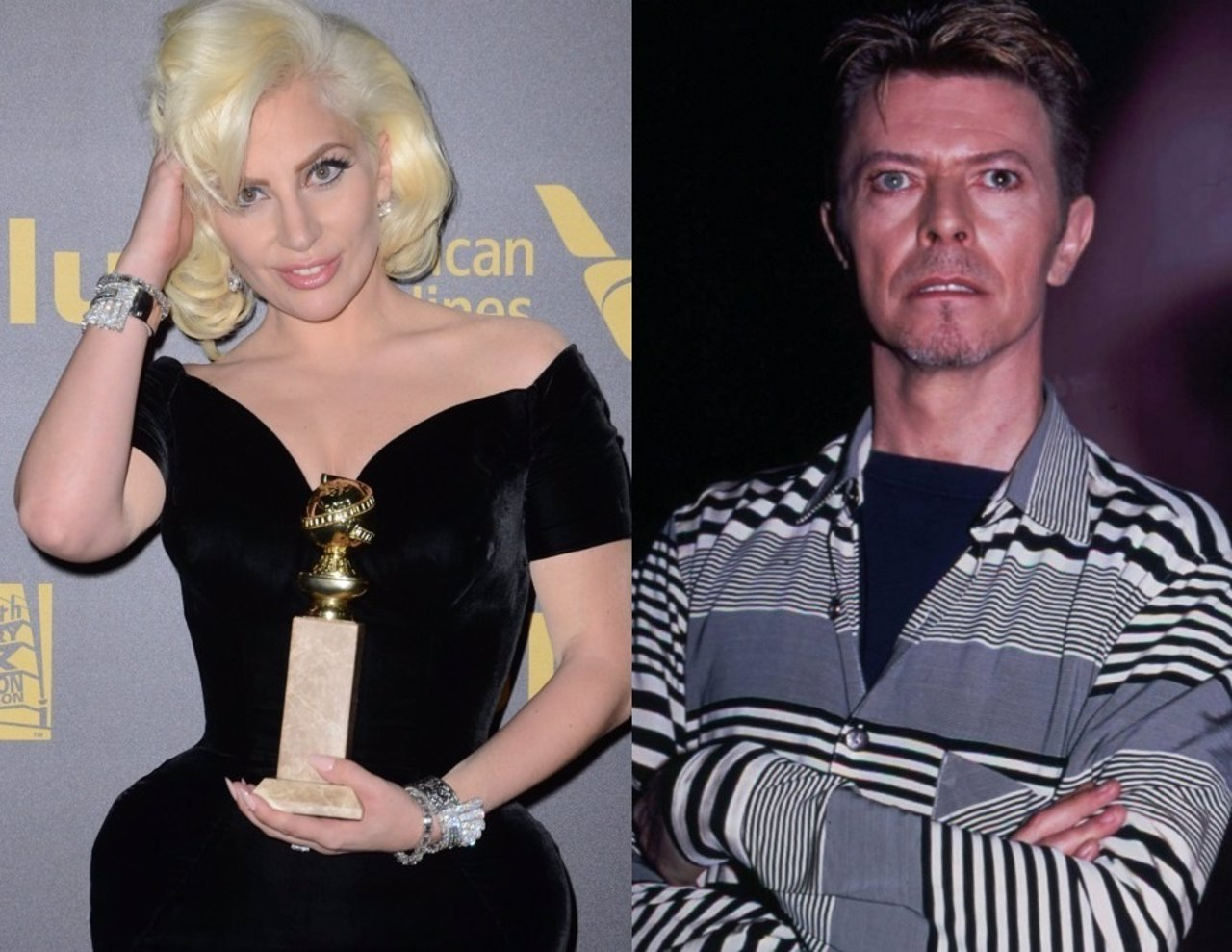 LADY GAGA Y DAVID BOWIE