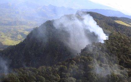 Un incendio afecta a Bogotá y obliga al cierre de centros educativos y entidades oficiales