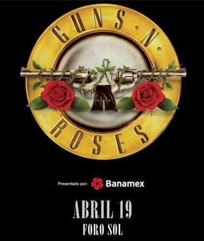 Los Guns n' Roses de Axl y Slash anuncian concierto en México DF
