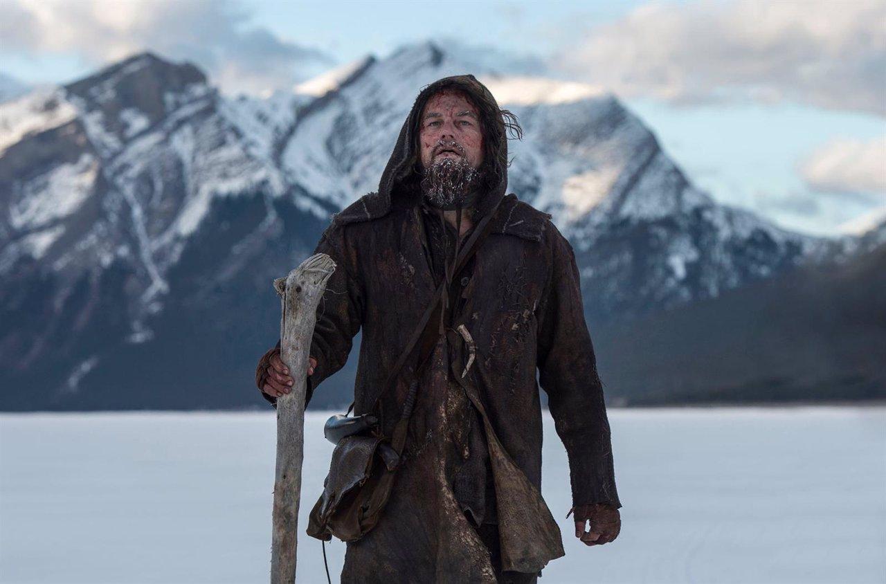 Leonardo DiCaprio en El renacido