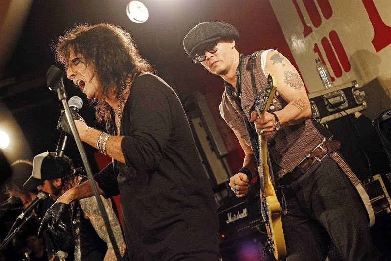 Alice Cooper, Johnny Depp y Joe Perry honrarán a Lemmy de Motörhead en los Grammy Awards