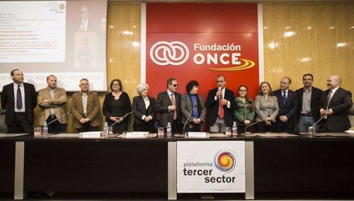 Luciano Poyato, reelegido presidente de Plataforma del Tercer Sector