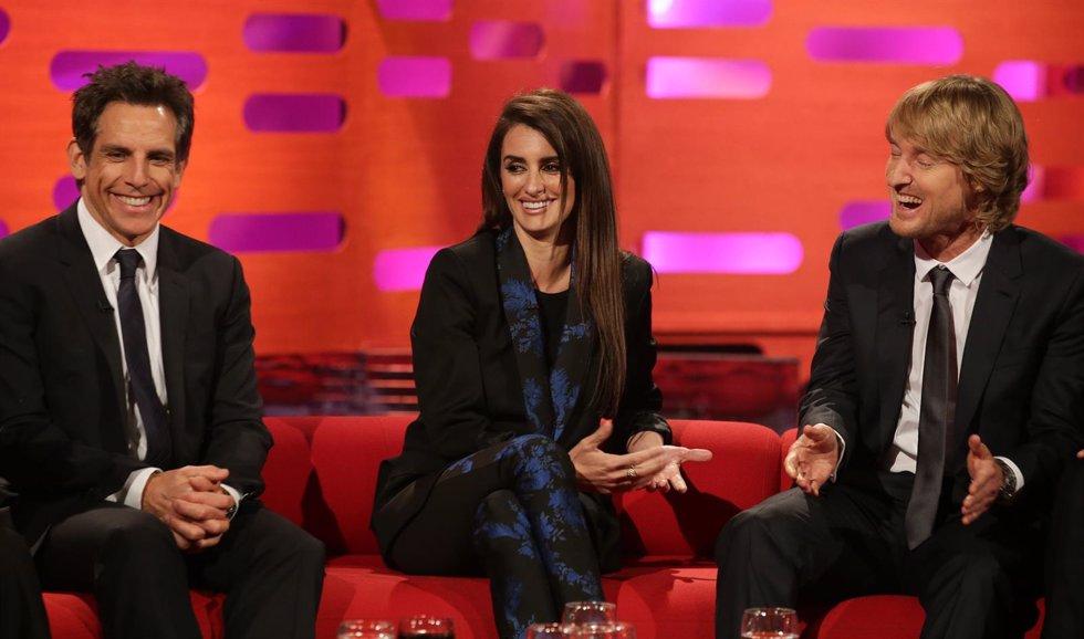 Ben Stiller, Penélope Cruz y Owen Wilson
