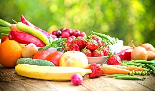Verduras, frutas