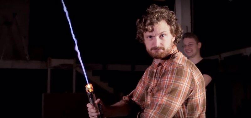 Star Wars: Construyen el primer sable láser real del mundo