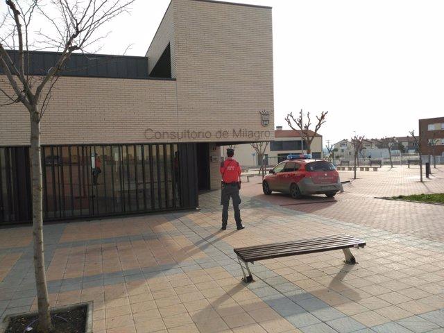 Un detenido en el consultorio médico de MIlagro