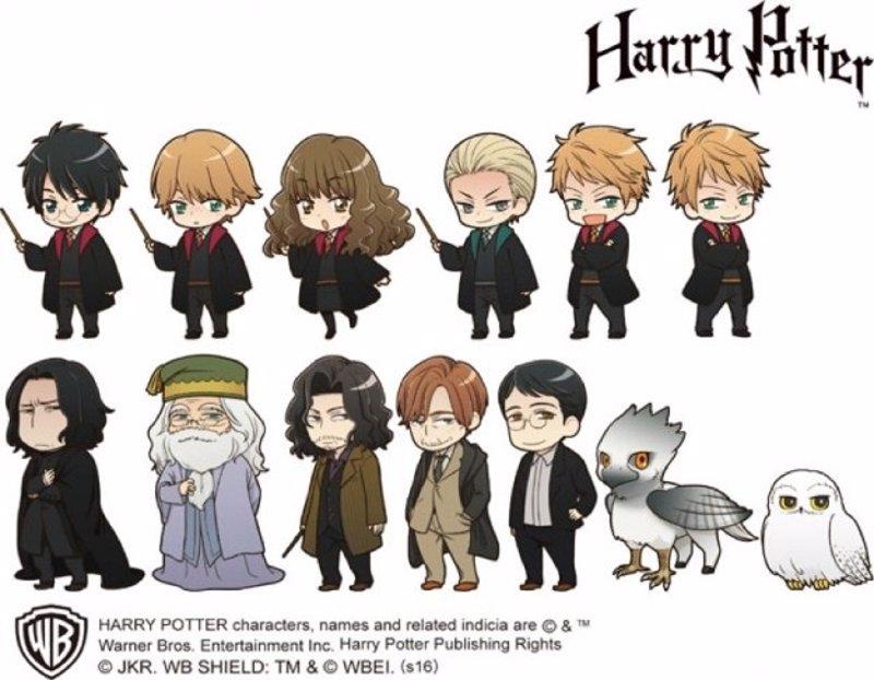 Harry Potter: Geniales versiones anime oficiales de los ...
