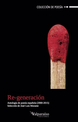 Portada de la antología Re-generación, de Valparaíso Ediciones
