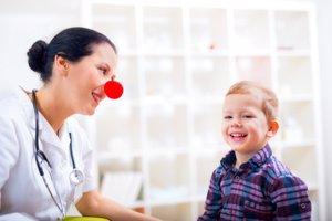 el servicio de Pediatría desbordado