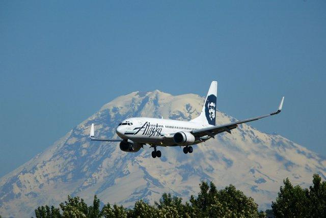 Avión de Alaska Air Group