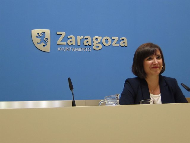 La portavoz del grupo municipal de C's en el Ayuntamiento, Sara Fernández