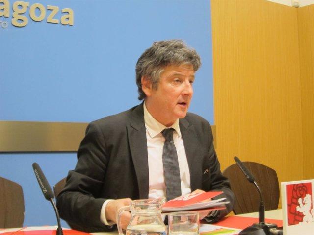 Javier Trívez, concejal del PSOE en el Ayuntamiento de Zaragoza