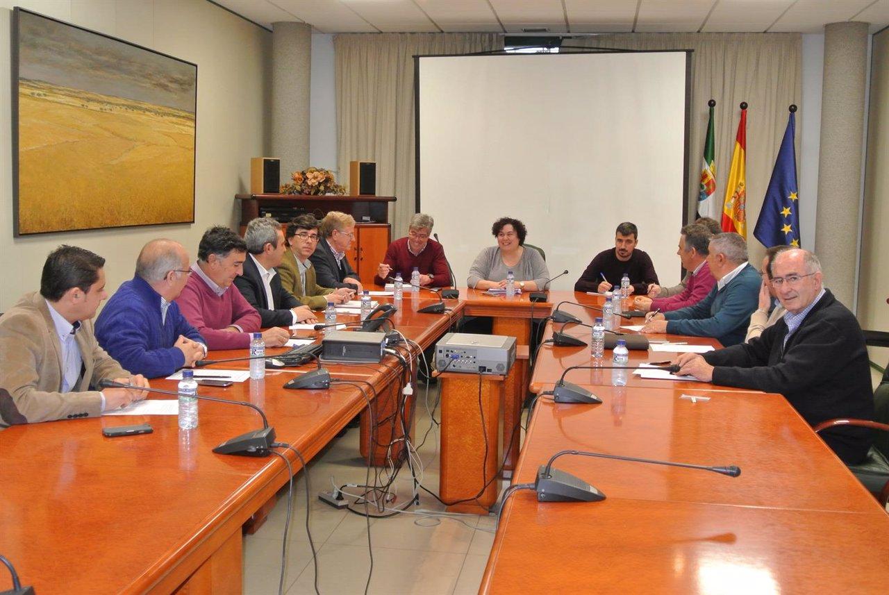 Reunión Cooperativas Agro-alimentarias