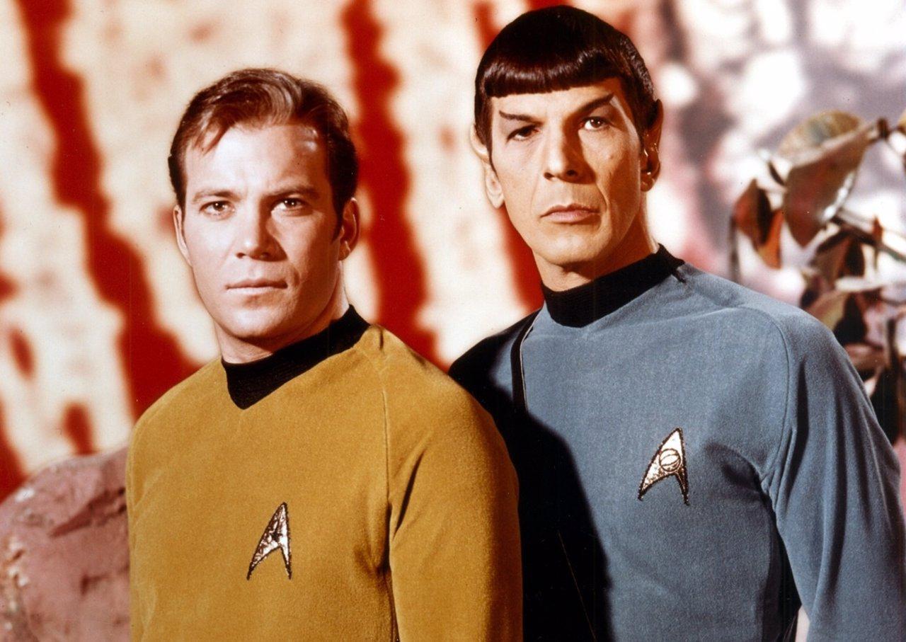 William Shatner Y Leonard Nimoy En Star Trek