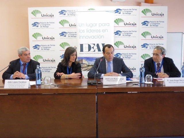 Lopes Candoso, Isaura Maria Elias, José Luis Ruiz Espejo y José Ángel Narváez
