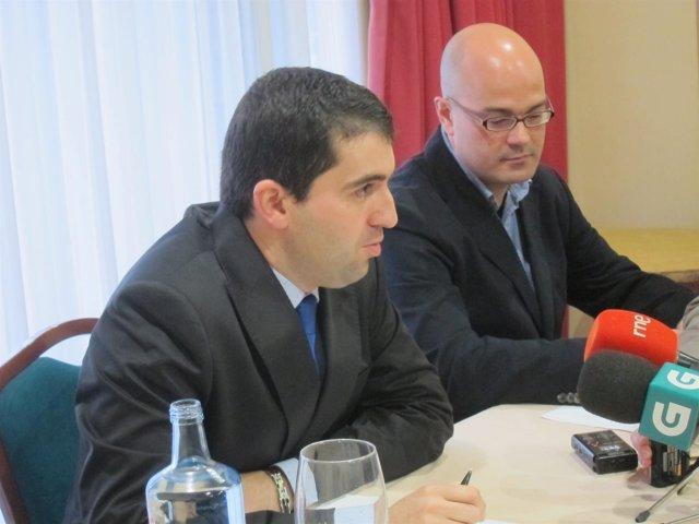 El presidente y el secretario de Transogal