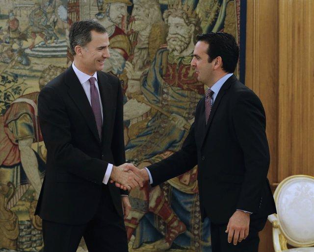 El Rey ha recibido al diputado de UPN Íñigo Alli